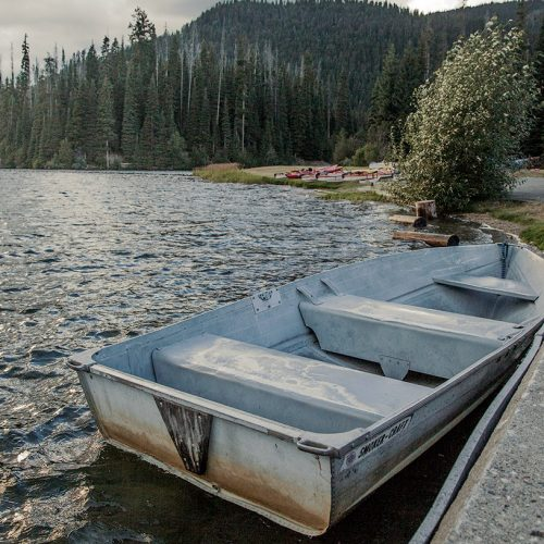 Manning Park – Summer 2016 – Boat